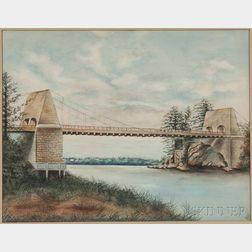 American School, Early 20th Century      The Chain Bridge, Amesbury, Massachusetts