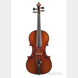 German Violin, Heinrich Th. Heberlein, Jr., Markneukirchen, 1911