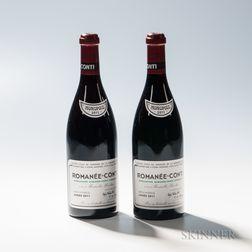 Domaine de la Romanee Conti Romanee Conti 2011, 2 bottles