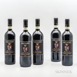 Argiano Brunello di Montalcino 2010, 5 bottles