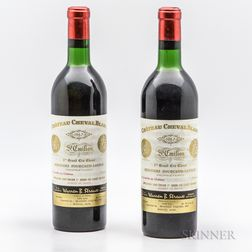 Chateau Cheval Blanc 1967, 2 bottles