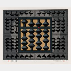 Yoshio Sekine (1922-1989), Four Serigraph Prints