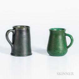 Two Merrimac Pottery Ceramic Mugs
