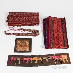 Five Peruvian Textiles