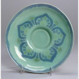 Newcomb High Gloss Arts & Crafts Pottery Dish