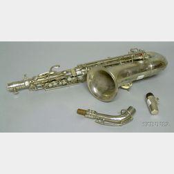 American Alto Saxophone, C.G. Conn, Ltd., Elkhart