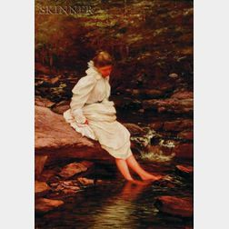 William Preston Phelps (American, 1848-1923)    Reflections