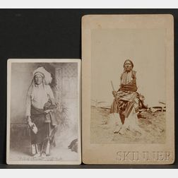Two Photographs of Southern Plains Men