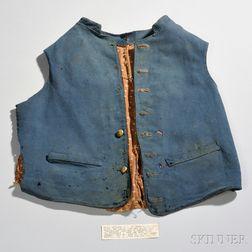 Vest Identified to Henry Watts Shephard, 170th New York Volunteers, Corcoran's Irish Legion