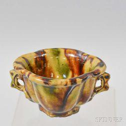 Sancai-glazed Cup