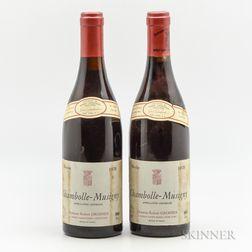 Robert Groffier Chambolle Musigny 1978, 2 bottles
