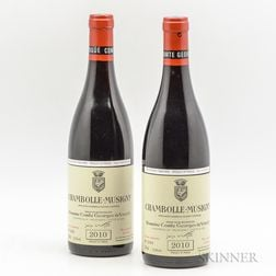 Comtes Georges de Vogue Chambolle Musigny 2010, 2 bottles