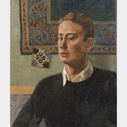Edmund Quincy (American, 1903-1997)  Self Portrait