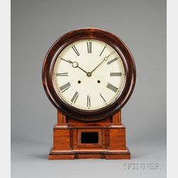 Rosewood Shelf Clock by the Atkins Clock Company