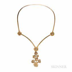 Kurt Matzdorf 18kt Gold and Diamond Necklace
