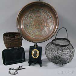 Group of Decorative Items