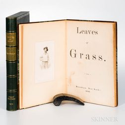 Whitman, Walt (1819-1892) Leaves of Grass.