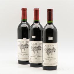 Grgich Hills Cabernet Sauvignon, 3 bottles