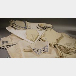 Box of Table Linens