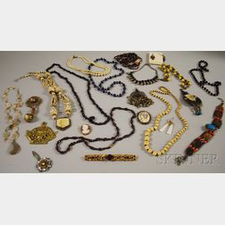 Lot of Mostly Costume Jewelry