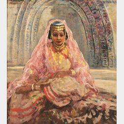 Lillian Mathilde Genth (American, 1876-1953)      Arab Girl