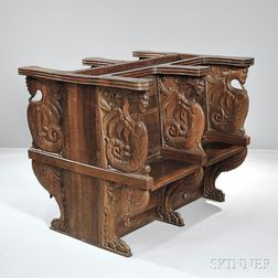 Italian-style Carved Choir Stalls