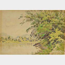 Louis Eilshemius (American, 1864-1941)      Delaware River