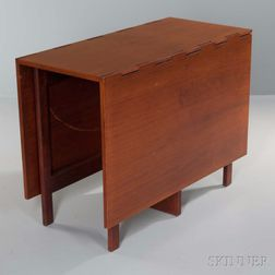 George Nelson (1908-1986) Gate-leg Table