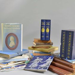 Collection of Wedgwood and Other Pottery Reference Books.    Estimate $200-400