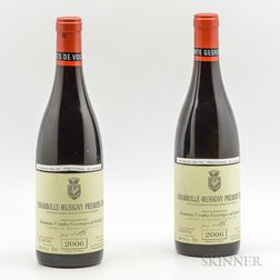 Comtes Georges de Vogue Chambolle Musigny 2006, 2 bottles
