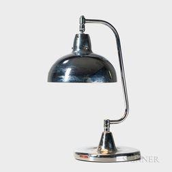 Apollo Electric Company Chromed Desk Lamp
