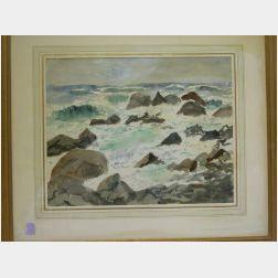 Framed Watercolor Nashawena