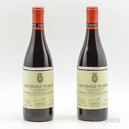 Comtes Georges de Vogue Chambolle Musigny 2005, 2 bottles