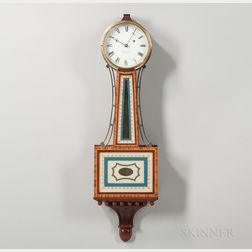 "E. Howard & Co. Patent Timepiece or ""Banjo"" Clock"