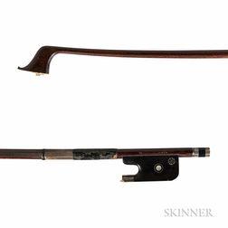 Silver-mounted Violoncello Bow, Heinz Dölling