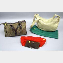 Three Designer Handbags or Wallets