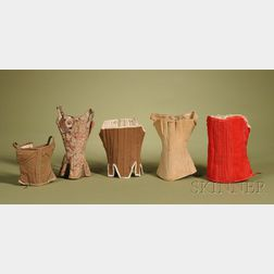 Five Doll Corsets