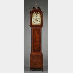 Mahogany Tall Clock by James Doull