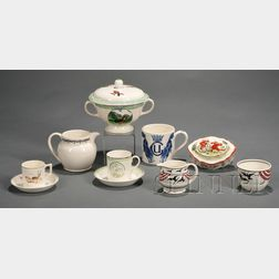 Eight Assorted Wedgwood Items