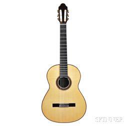 Spanish Classical Guitar, Antonio Marin Montero, Granada, 2007