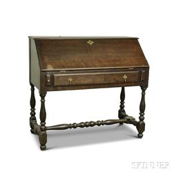 Wallace Nutting William and Mary-style Maple Desk on Frame