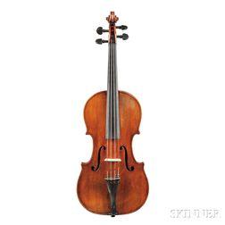 Swiss Violin, Hans Rudolf Waser, Zurich, 1850