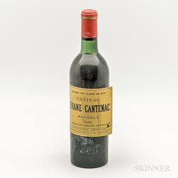 Chateau Brane Cantenac 1966, 1 bottle