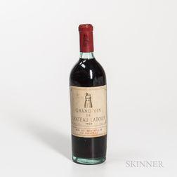 Chateau Latour 1940, 1 bottle