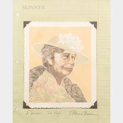 S. Patricia Benson (American, b. 1941)      Eleanor