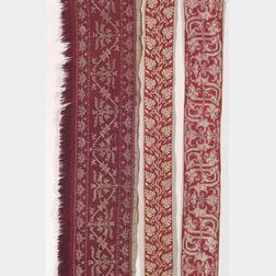 Three European Embroidered Textiles