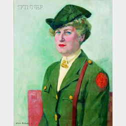 Jane Peterson (American, 1876-1965)      Portrait of a Female Officer, Possibly Lucy Lamar