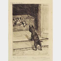 Marguerite Kirmse (American, 1885-1954)      The Intruder.