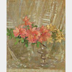 Laura Coombs Hills (American, 1859-1952)      Azaleas