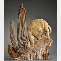 Mary Ogden Abbott (1894-1981) Wall Sculpture